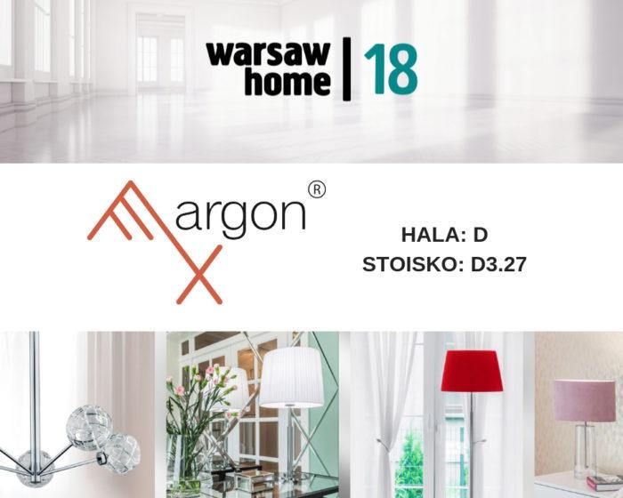 ARGON na Targach Warsaw Home 4-7.10.2018